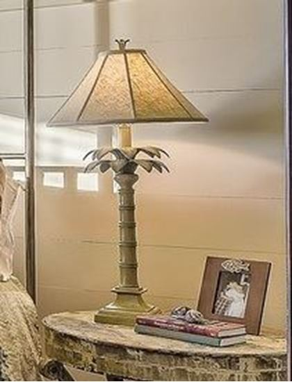 Picture of Golden Side Lamp with Photoframe