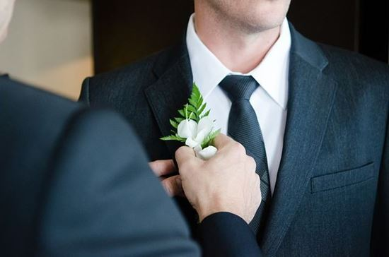 Picture of Wedding Suit Black Color
