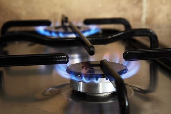 Picture of Stove with brass hobs