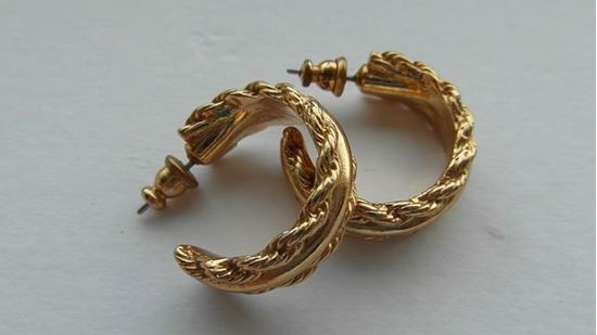 Picture of Vintage Gold Earings